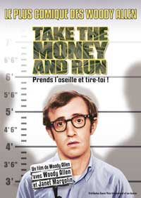 Take the Money and Run - 43 x 62 Movie Poster - French Style A