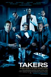 Takers - 27 x 40 Movie Poster - Style D