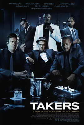 Takers - 27 x 40 Movie Poster - Style A