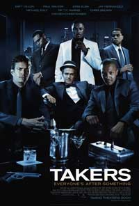 Takers - 43 x 62 Movie Poster - Bus Shelter Style A