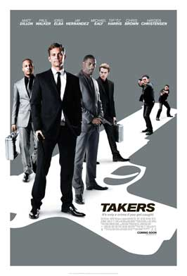 Takers - 27 x 40 Movie Poster - Style B