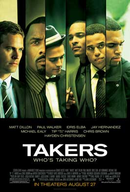 Takers - 11 x 17 Movie Poster - Style C