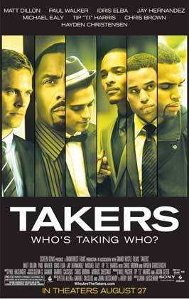 Takers - 11 x 17 Movie Poster - Style D