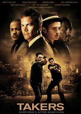 Takers - 11 x 17 Movie Poster - Style E