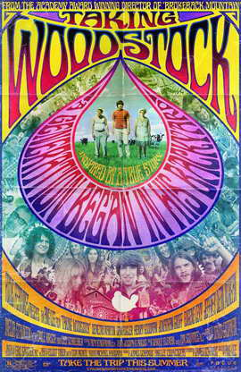 Taking Woodstock - 27 x 40 Movie Poster