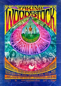 Taking Woodstock - 11 x 17 Movie Poster - German Style A