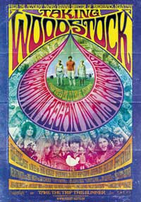 Taking Woodstock - 11 x 17 Movie Poster - Swiss Style B