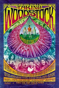 Taking Woodstock - 11 x 17 Movie Poster - German Style B