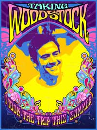 Taking Woodstock - 43 x 62 Movie Poster - Bus Shelter Style B