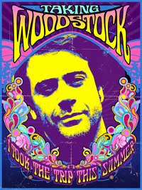Taking Woodstock - 11 x 17 Movie Poster - Style C