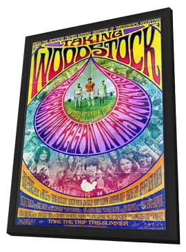 Taking Woodstock - 11 x 17 Movie Poster - Style A - in Deluxe Wood Frame