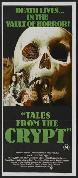 Tales from the Crypt - 14 x 36 Movie Poster - Insert Style A