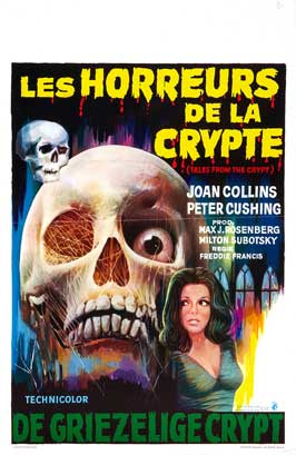 Tales from the Crypt - 27 x 40 Movie Poster - Belgian Style A