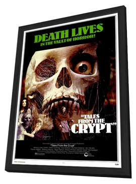 Tales from the Crypt - 27 x 40 Movie Poster - Style A - in Deluxe Wood Frame