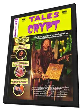 Tales From the Crypt - 27 x 40 Movie Poster - Style B - in Deluxe Wood Frame