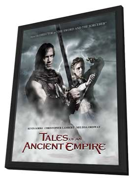 Tales of an Ancient Empire - 11 x 17 Movie Poster - Style B - in Deluxe Wood Frame
