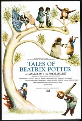 Tales of Beatrix Potter - 27 x 40 Movie Poster - UK Style A