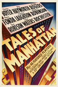 Tales of Manhattan - 11 x 17 Movie Poster - Style B