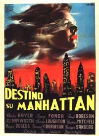 Tales of Manhattan - 11 x 17 Movie Poster - French Style A