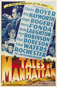 Tales of Manhattan - 27 x 40 Movie Poster - Style C