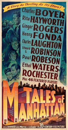 Tales of Manhattan - 20 x 40 Movie Poster - Style A