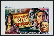 Tales of Terror - 11 x 17 Movie Poster - Belgian Style A