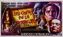 Tales of Terror - 43 x 62 Movie Poster - Belgian Style A