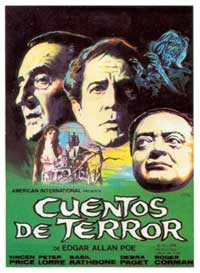 Tales of Terror - 11 x 17 Movie Poster - Spanish Style B