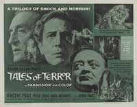 Tales of Terror - 22 x 28 Movie Poster - Half Sheet Style A