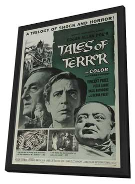 Tales of Terror - 11 x 17 Movie Poster - Style A - in Deluxe Wood Frame
