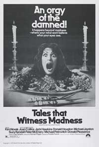 Tales That Witness Madness - 27 x 40 Movie Poster - Style B