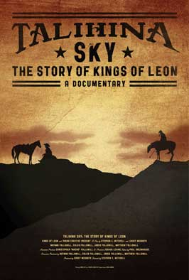 Talihina Sky: The Story of Kings of Leon - 27 x 40 Movie Poster - Style A