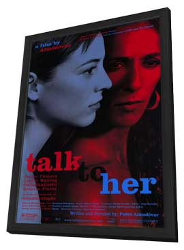 Talk to Her - 11 x 17 Movie Poster - Style A - in Deluxe Wood Frame