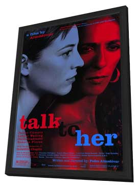 Talk to Her - 27 x 40 Movie Poster - Style A - in Deluxe Wood Frame