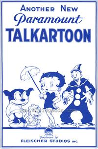 Talkartoon - 43 x 62 Movie Poster - Bus Shelter Style A