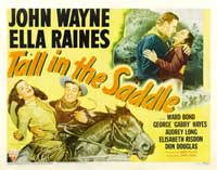 Tall in the Saddle - 22 x 28 Movie Poster - Half Sheet Style A