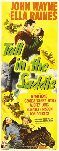 Tall in the Saddle - 14 x 36 Movie Poster - Insert Style A