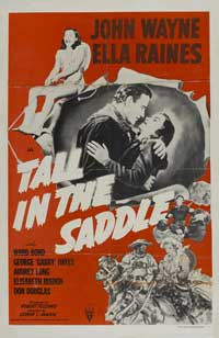 Tall in the Saddle - 11 x 17 Movie Poster - Style D