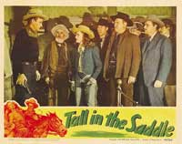 Tall in the Saddle - 11 x 14 Movie Poster - Style C