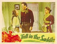 Tall in the Saddle - 11 x 14 Movie Poster - Style F
