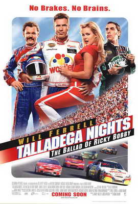 Talladega Nights: The Ballad of Ricky Bobby - 27 x 40 Movie Poster - Style C