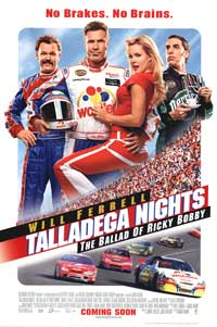 Talladega Nights: The Ballad of Ricky Bobby - 43 x 62 Movie Poster - Bus Shelter Style C