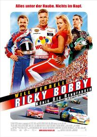 Talladega Nights: The Ballad of Ricky Bobby - 11 x 17 Movie Poster - German Style A