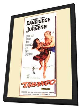 Tamango - 11 x 17 Movie Poster - Style B - in Deluxe Wood Frame