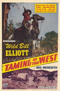 Taming of the West - 11 x 17 Movie Poster - Style A