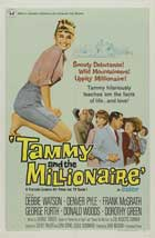 Tammy and the Millionaire - 27 x 40 Movie Poster - Style B