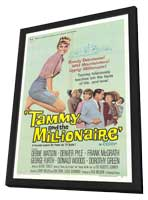 Tammy and the Millionaire - 11 x 17 Movie Poster - Style A - in Deluxe Wood Frame
