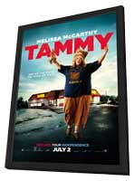 Tammy - 11 x 17 Movie Poster - Style A - in Deluxe Wood Frame
