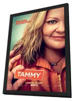 Tammy - 11 x 17 Movie Poster - Style B - in Deluxe Wood Frame