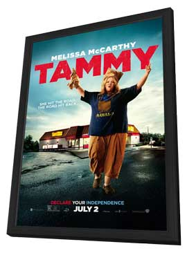 Tammy - 27 x 40 Movie Poster - Style A - in Deluxe Wood Frame